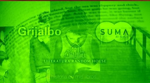 Novedades Editoriales. Mayo 2018. Grijalbo, Literatura Random House y Suma de Letras