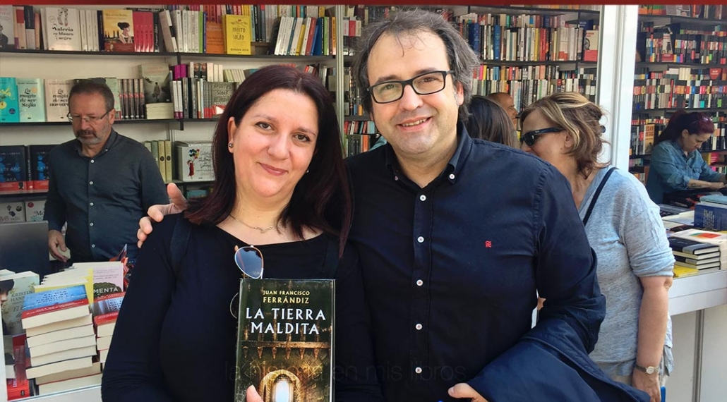 Muy agradable mi breve encuentro con Juan Francisco Ferrándiz.