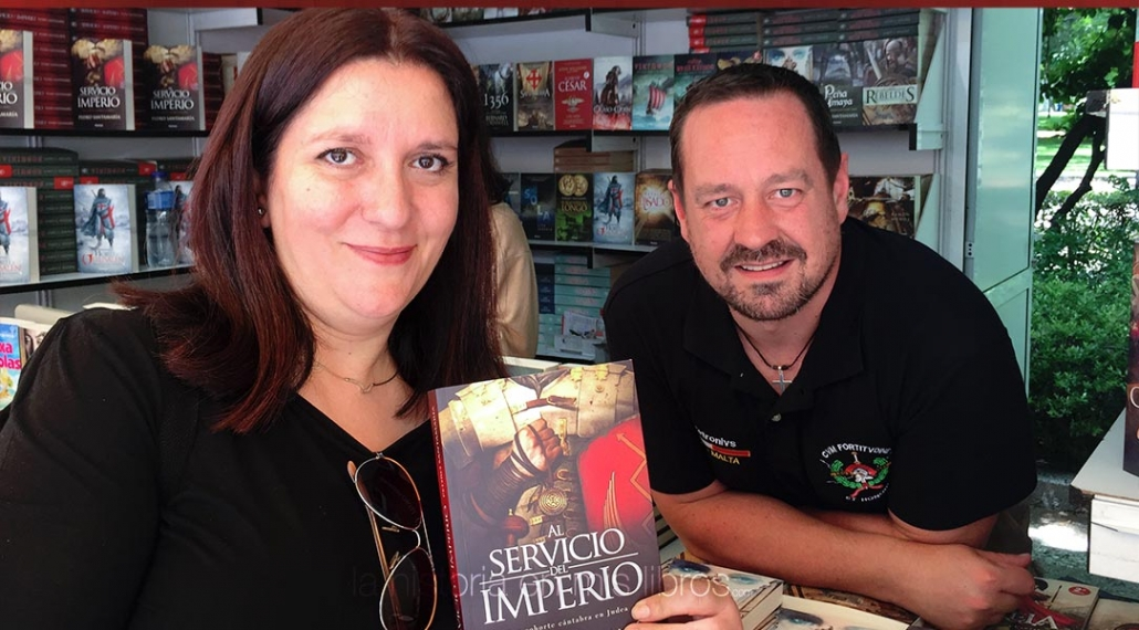 Una instantánea tras el agradable encuentro con Pedro Santamaría