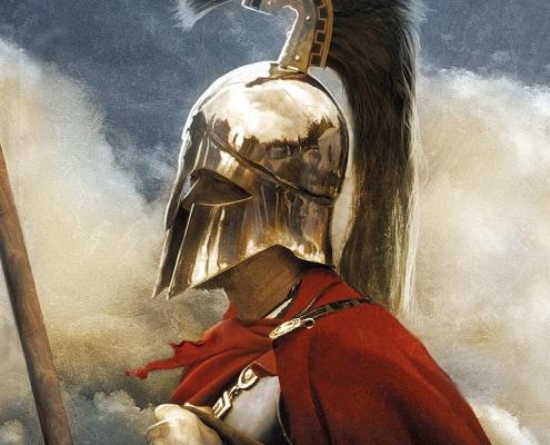 Enemigos de Esparta, de Sebastián Roa