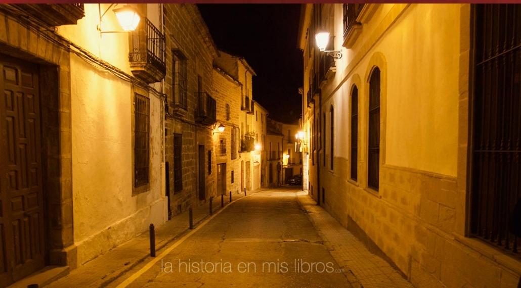 Un paseo nocturno por Úbeda siempre es un placer.