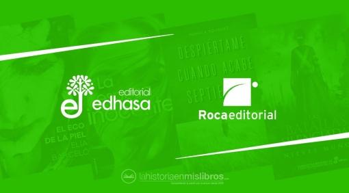 Novedades Editoriales. Abril 2019. Roca Editorial y Edhasa