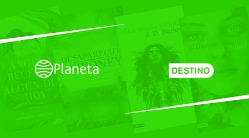 Novedades Editoriales. Planeta y Destino. Mayo 2019