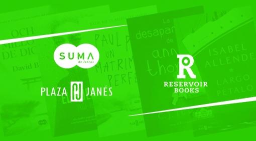 Novedades Editoriales. Mayo 2019. Suma, Reservoir Books y Plaza & Janés