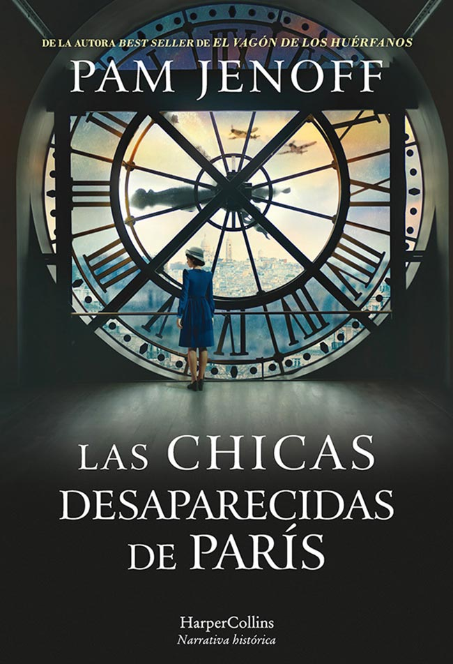Las chicas desaparecidas de París, de Pam Jenoff