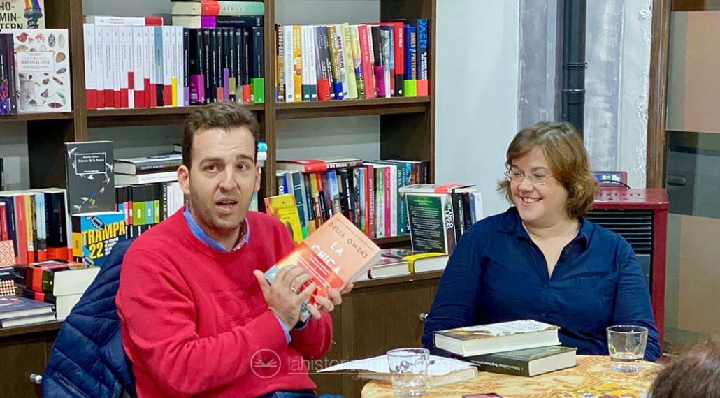 Presentación de «Historia de una flor», de Claudia Casanova, con Pedro P. Uceda.