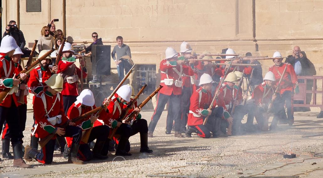 El ejército británico perfectamente recreado en su lucha contra el Reino Zulú