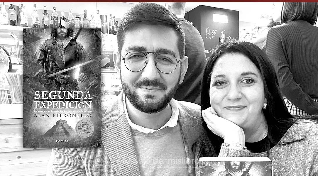 Encuentro con Alan Pitronello, ganador del Premio Internacional de Novela Histórica de Úbeda