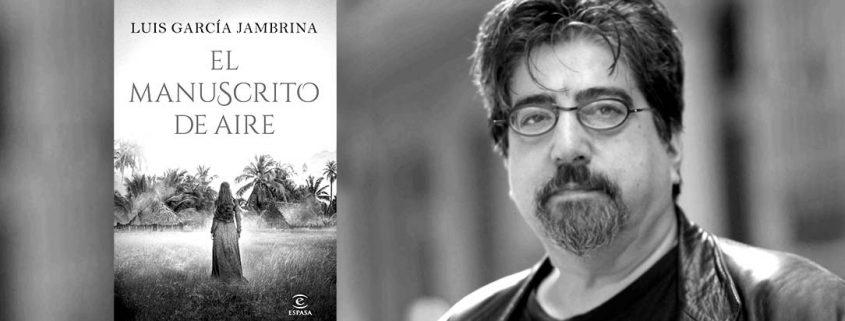 Escritores desde el confinamiento: Luis García Jambrina