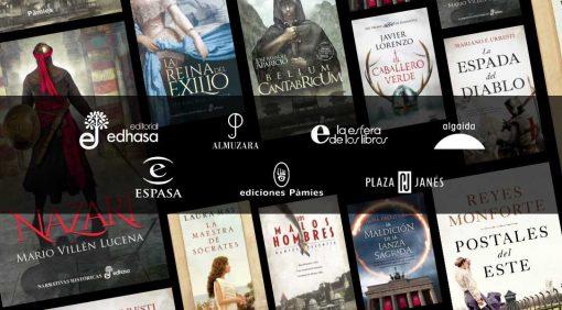 Mis Novedades Editoriales Favoritas en Novela Histórica. Junio 2020