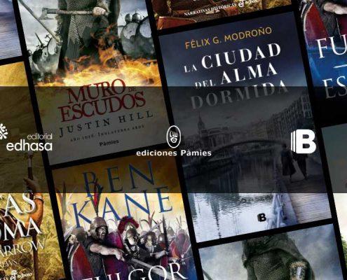 Mis Novedades Editoriales Favoritas en Novela Histórica. Julio 2020